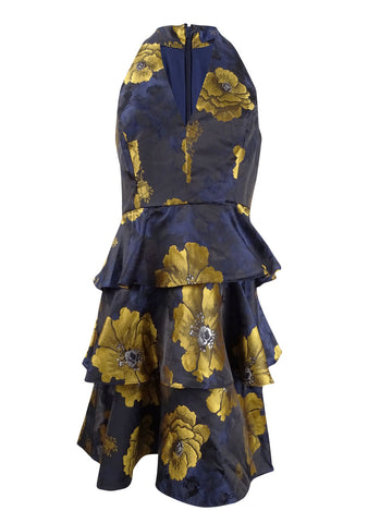 Rachel Rachel Roy Women's Floral-Print Ruffled Dress