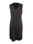 Rachel Rachel Roy Women's Studded Dress (L, Black/Gold)
