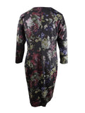 Rachel Rachel Roy Women's Plus Floral Printed Sheath Dress