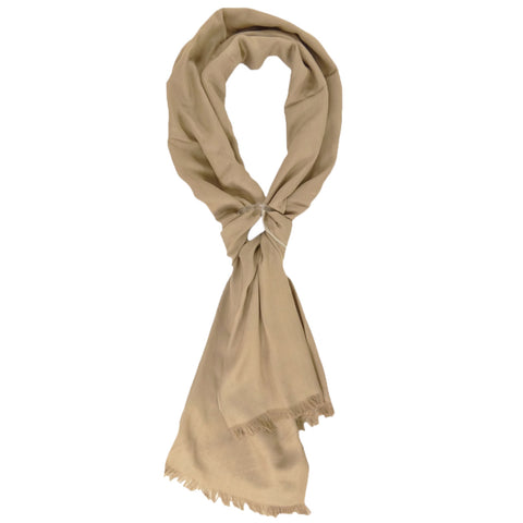 Charter Club Women's Ivory / Oat Reversible Wrap Shawl Scarf Fashion Accessory