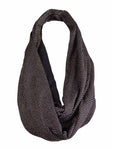 Echo Design Women's Metallic Dot Lace Inset Infinity Scarf
