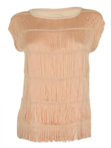 INC International Concepts Women's Fringed Top