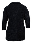 Style & Co. Women's 3/4 Sleeves Cowl Eyelash Sweater