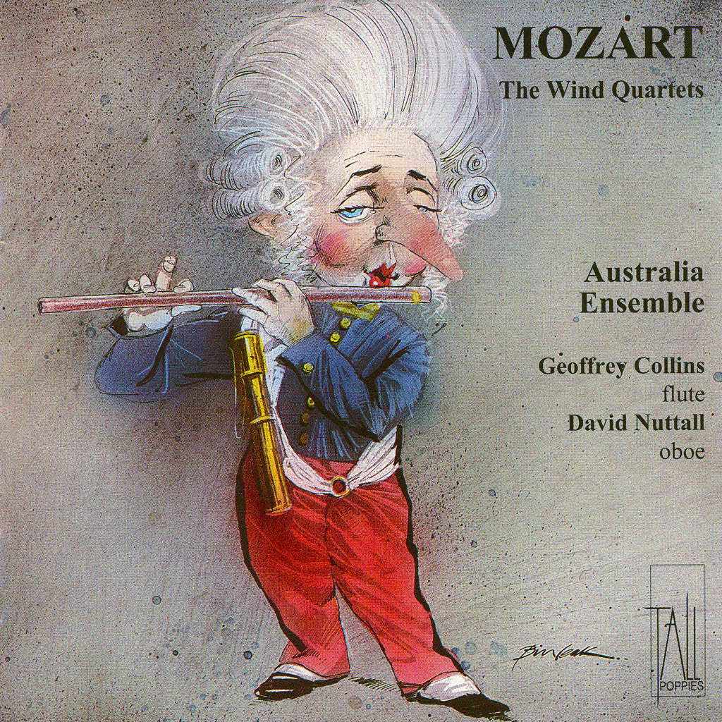 Mozart - Quartets for Wind and Strings