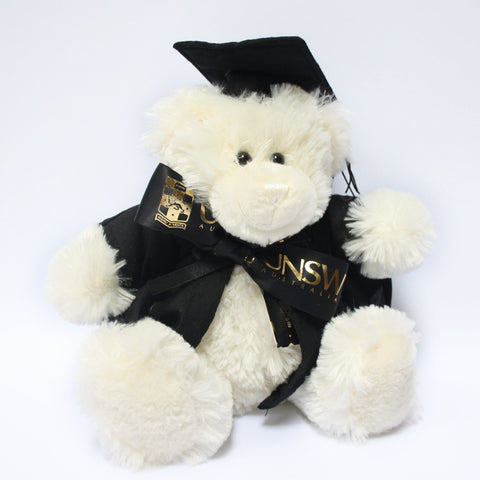 Graduate Bear - Medium Cream