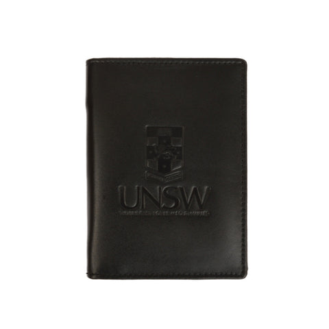 UNSW Leather Pocket Notebook and Pen