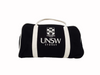 UNSW Black Duffle Bag