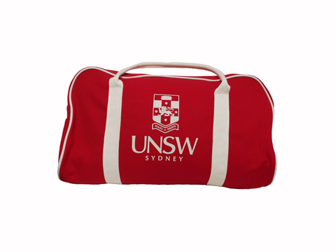 UNSW Red Duffle Bag