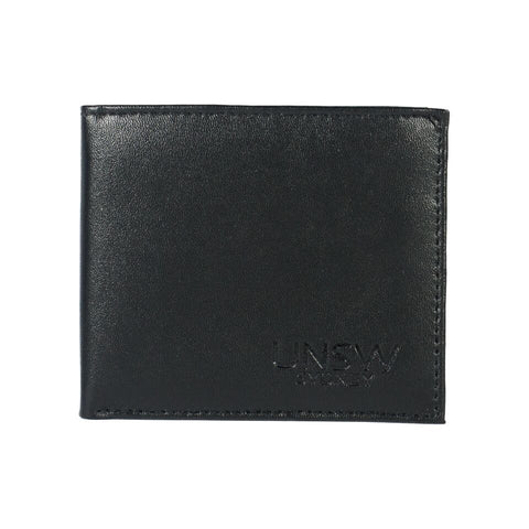 UNSW Embossed Leather Bi-fold Wallet