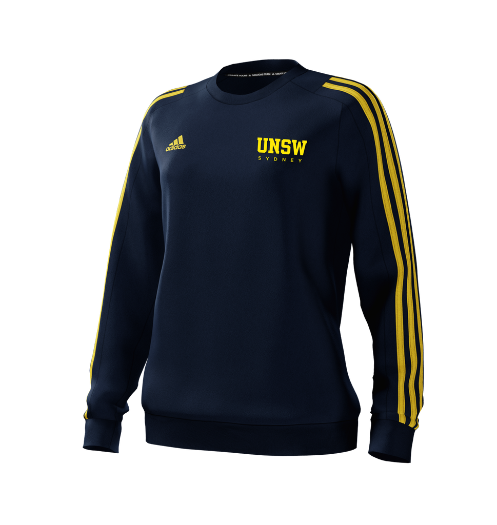 UNSW + Adidas Women's Navy Sweat Top