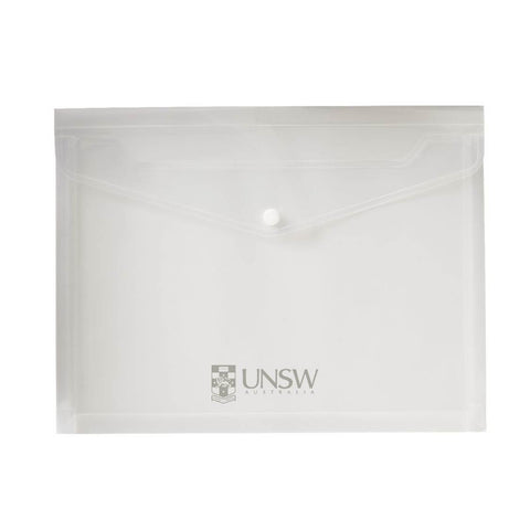 UNSW - Clear Expandable Document Holder