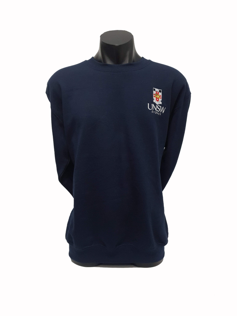 UNSW Embroidered Crew Sweatshirt - Navy