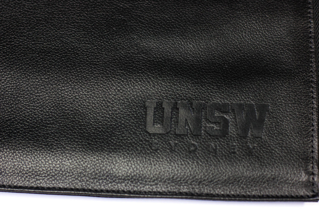 UNSW Debossed Leather Brief