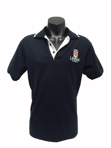 UNSW Men's Polo Shirt Pique - Navy