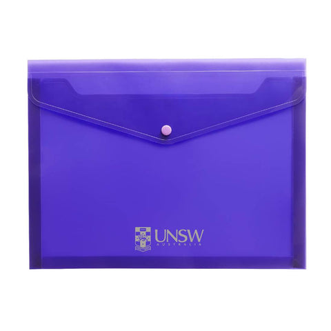UNSW - Purple Expandable Document Holder