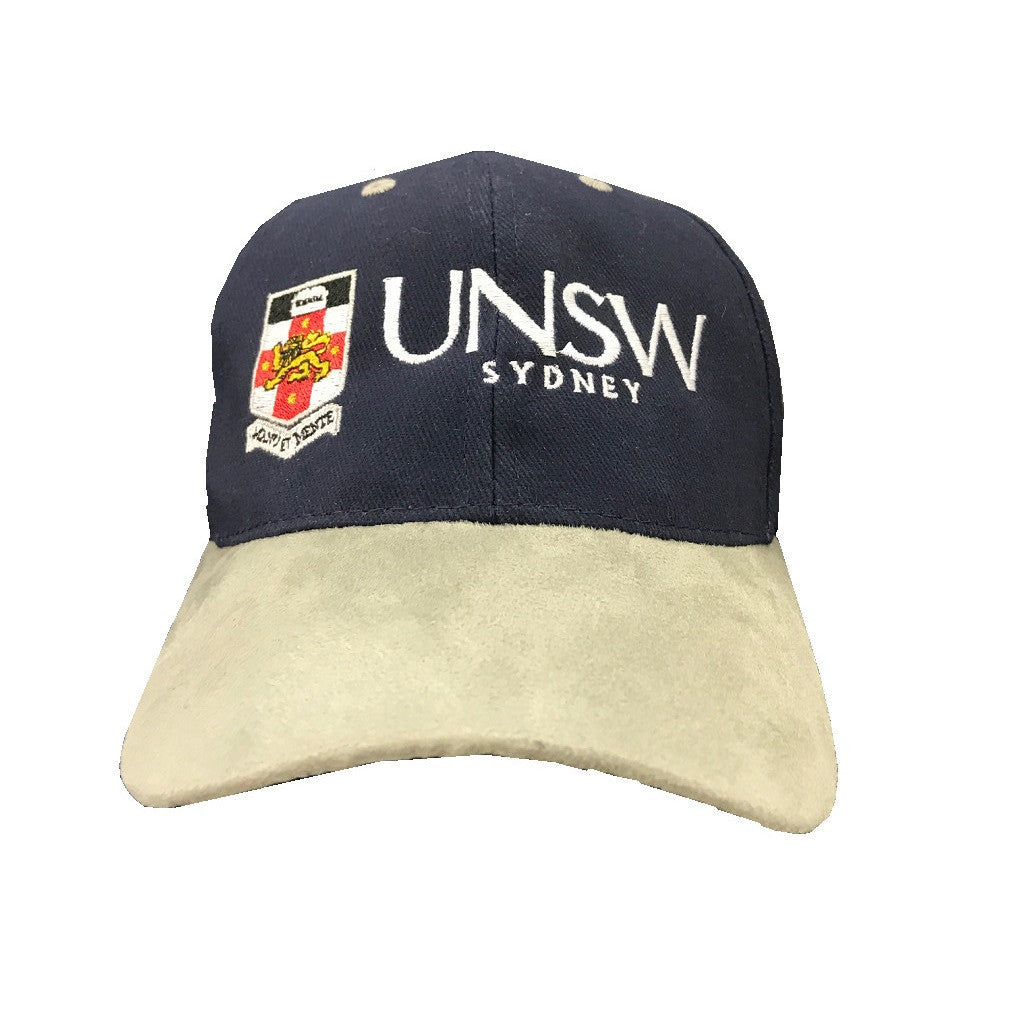 UNSW Cap - Tan Suede