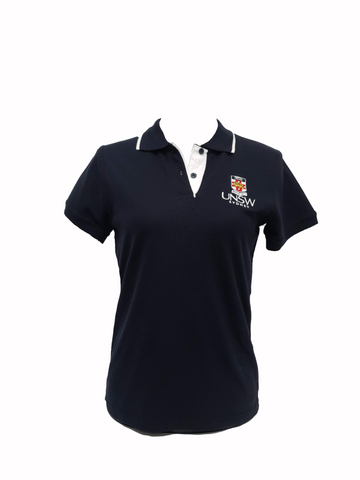 UNSW Women's Polo Shirt Pique - Navy