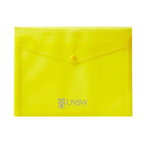 UNSW - Yellow Expandable Document Holder