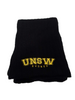 UNSW Cable Knit Scarf - Black & Gold