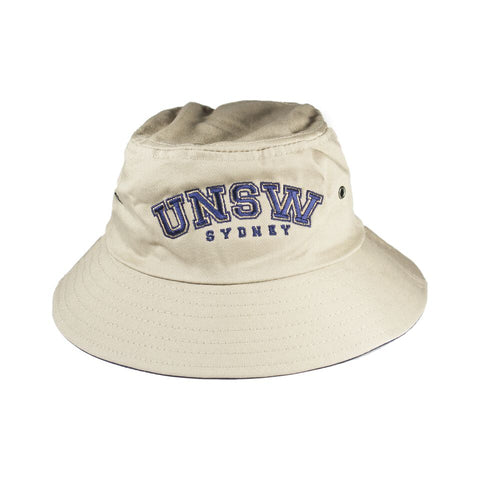 UNSW Bucket Hat - Natural