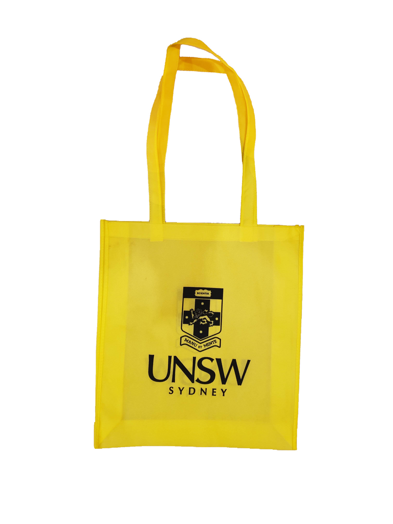 UNSW - Non Woven Yellow Bag