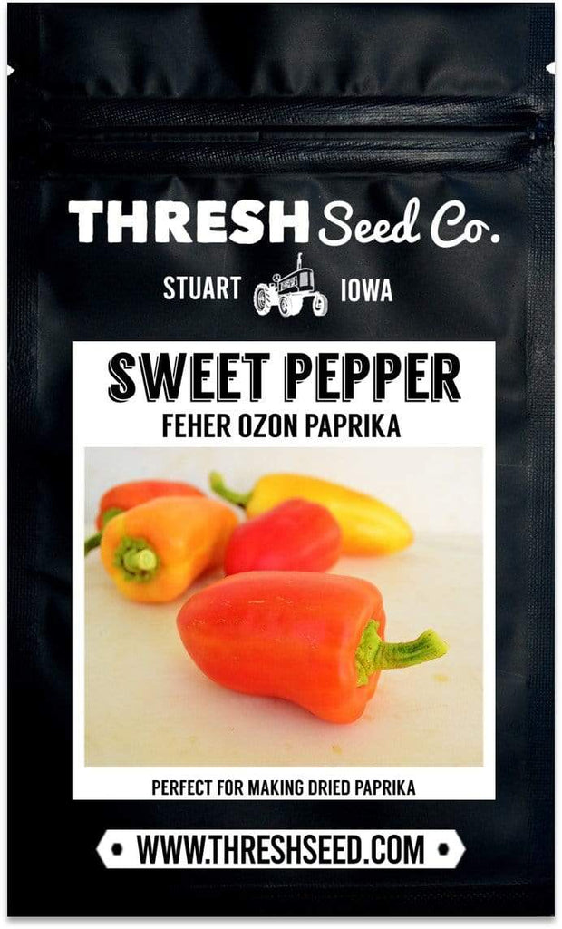 Feher Ozon Paprika Pepper Seeds