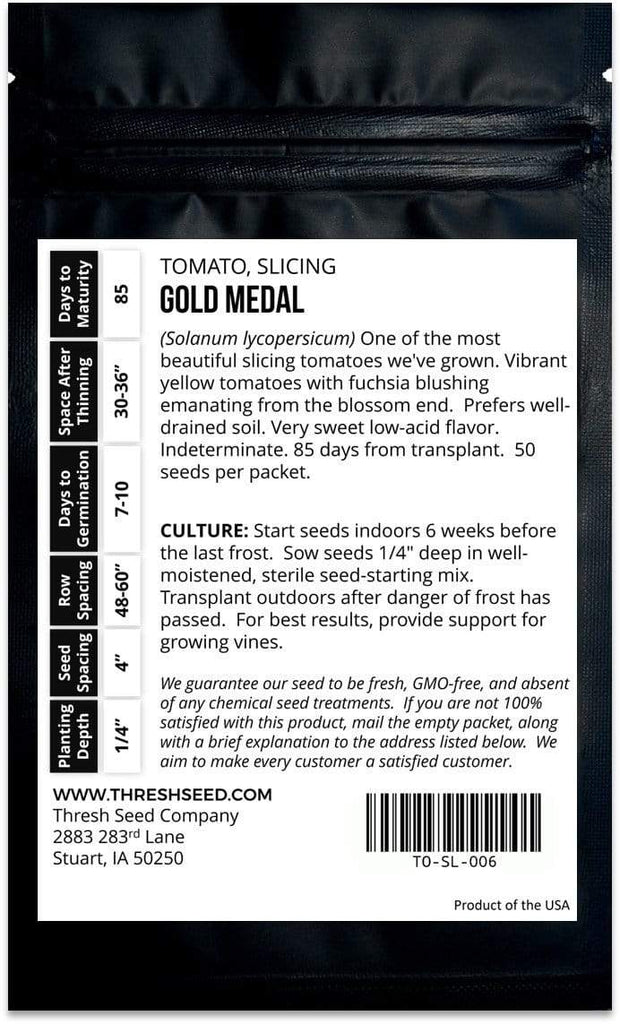 Gold Medal Tomato Seeds