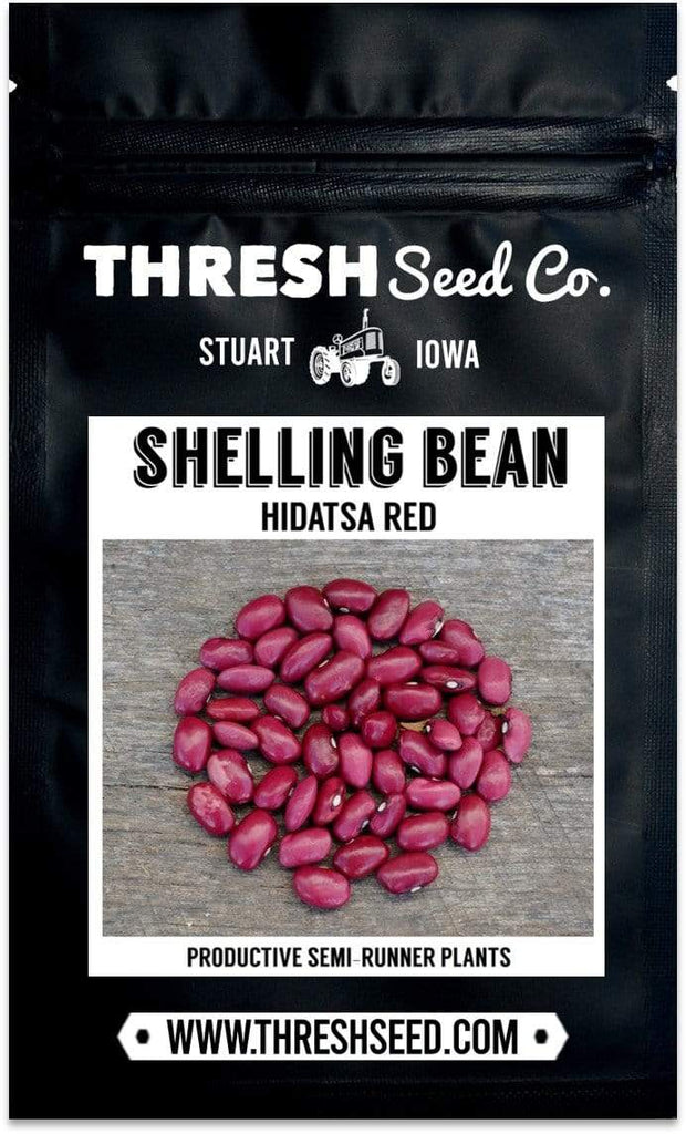 Hidatsa Red Shelling Bean Seeds