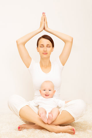 meditation with your baby