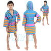 Cacala Kids Rainbow Bathrobe Turquoise