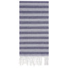Cacala Simav Pestemal Towel Dark Blue