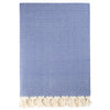 Cacala Zincir Throw XL Night Blue