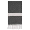 Cacala Elmas Turkish Towel Black