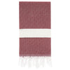Cacala Elmas Turkish Towel Burgundy