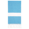 Cacala Elmas Turkish Towel Seablue