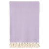 Cacala Terry Pestemal Elmas Throw XL Lilac
