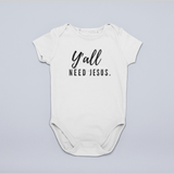 Baby Onesie - Y'all Need Jesus- Unisex baby t shirt