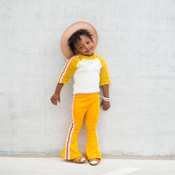 Bell Bottoms Vintage Inspired Toddlers King and Lola Kids