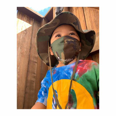 Camouflage Mask for kids - KingandLola