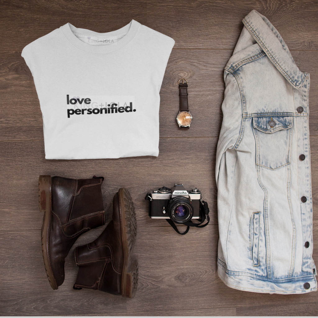 Short Sleeve T-Shirt Tank - Love Personified - Unisex T-shirt