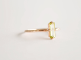 Nadia Ring Yellow Gold with Peridot