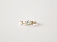 Mary-Anne White Gold And Aquamarine