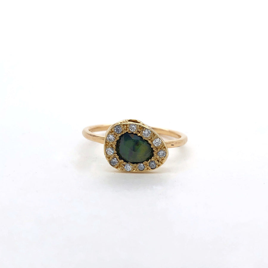 Nicolette I Ring - Yellow Gold