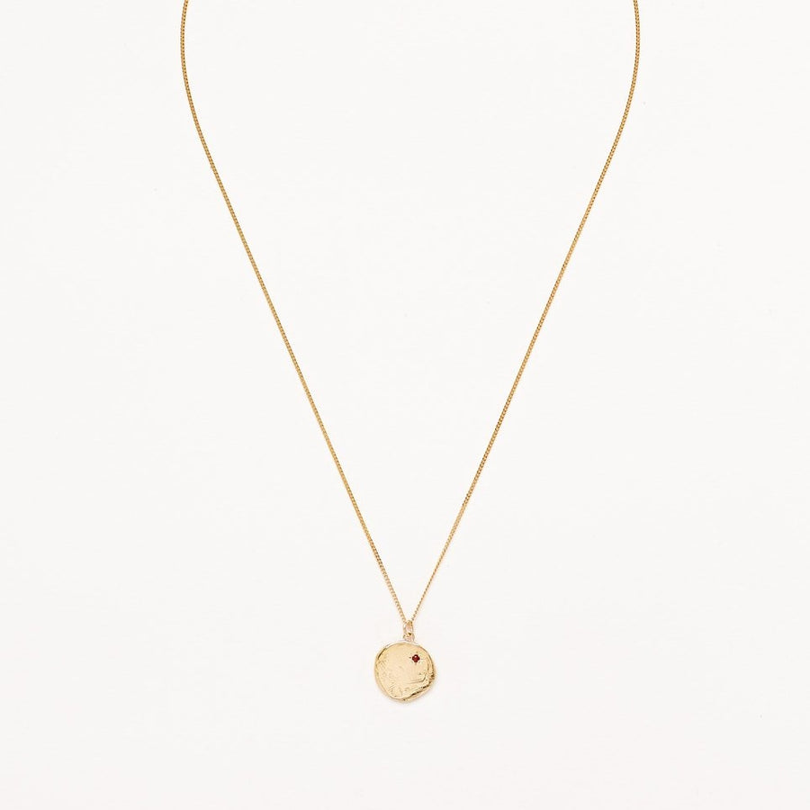 Currency of Hands Necklace Gold