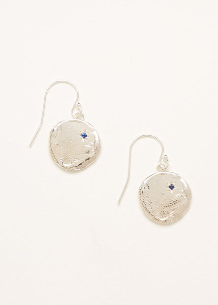 Currency of Hands Earrings Silver