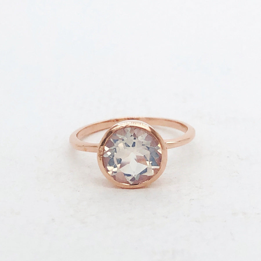 Billie Ring Rose Gold with Lilac Moonstone