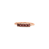 Florence Ring 9ct Gold with Garnet