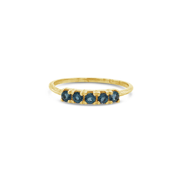 Florence Ring 9ct Gold with Sapphire