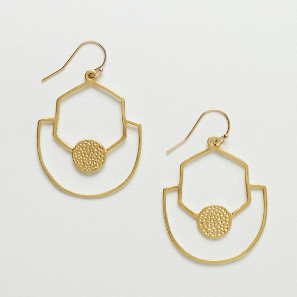 Sahara Earrings - Gold