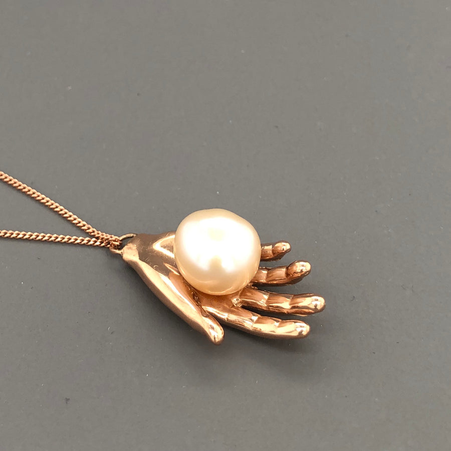 Pearl of Wisdom Necklace Gold